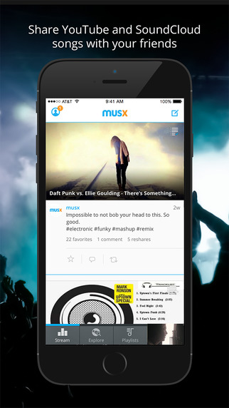 musx - share and discover music with friends