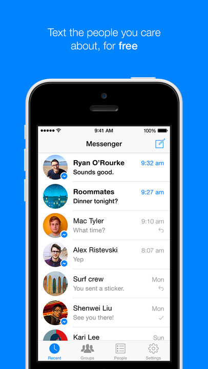 Facebook Messenger - iPhone Mobile Analytics and App Store Data