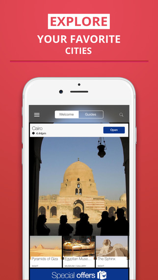 Cairo - your travel guide with offline maps from tripwolf guide for sights restaurants and hotels