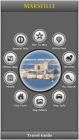 Marseille City Map Guide