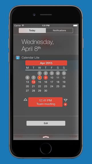 Calendar Widget Lite