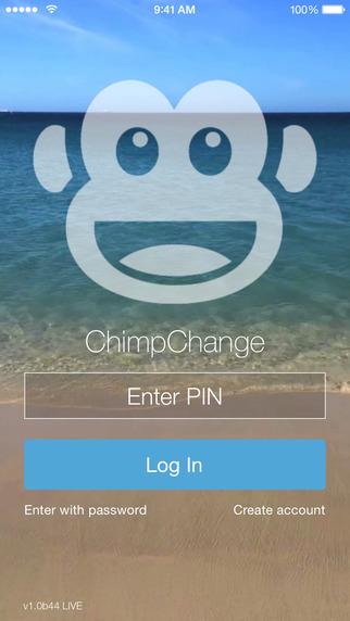 ChimpChange – mobile money transfers payments