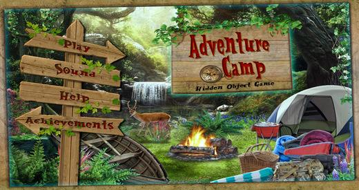 Adventure Camp - Free Hidden Object Games