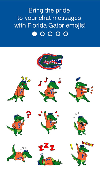 Florida Gators Emoji