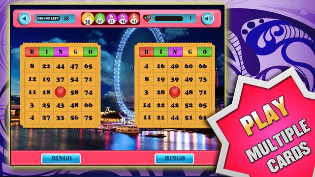 Free World Tour Bingo Casino