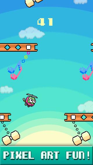 MiniCopters - Pixel Art Swing Fun Action