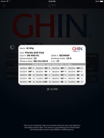 GHIN Mobile