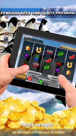 Penguim Beer and Slots Premium - FREE Game Luck in Casino Machine