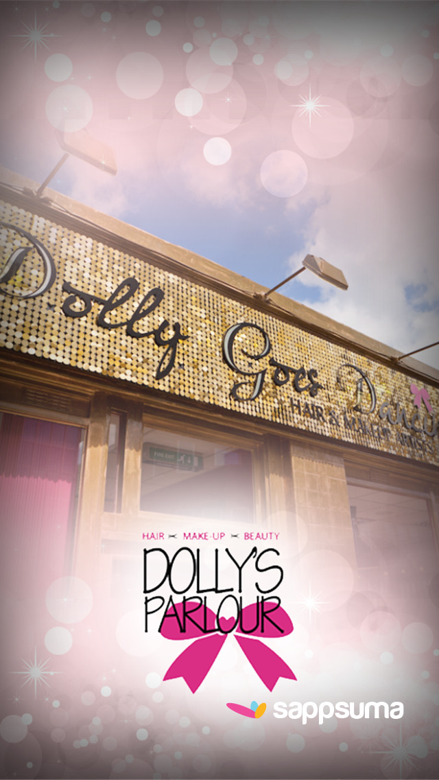 App shopper dolly goes dancing lifestyle for Adonia beauty salon