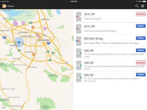 Dealeo iPad Screenshot 2