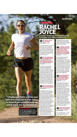220 Triathlon Magazine - swim bike and run tips beginner to ironman train like a Brownlee