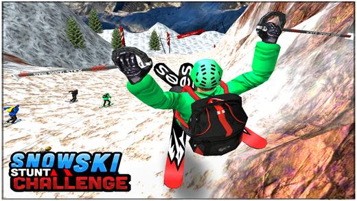 Snow Ski Stunt Challenge