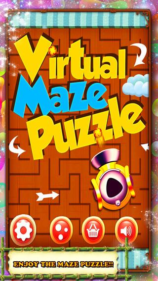 Virtual Maze Puzzle
