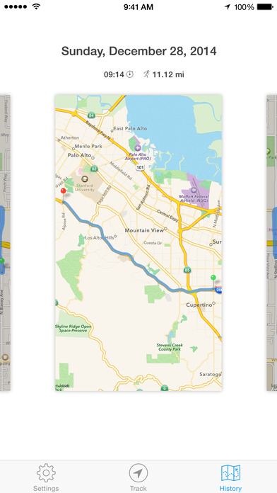 Track — Realtime route tracking & sharing screenshot