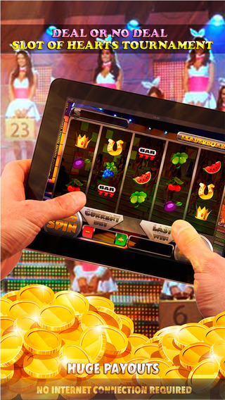 Deal or no Deal - Slot of Hearts Tournament - FREE Slot Game Casino Governor