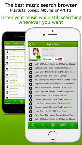 Youtify for Spotify Premium and YouTube