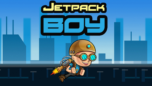 Jetpack Boy - Incredible Flight Adventure