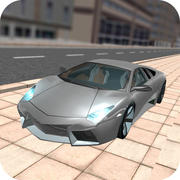 Extreme Car Driving Simulator Free mobile app icon