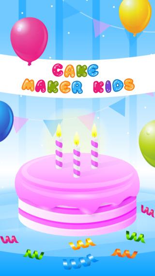 【免費遊戲App】Cake Maker Kids - Cooking Game (Ads Free)-APP點子