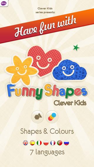 高評價推薦好用教育app Funny Shapes for Kids!線上最新手機免費好玩App
