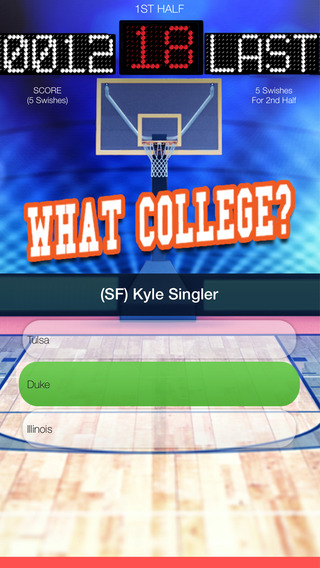 What College - Professional Basketball Edition