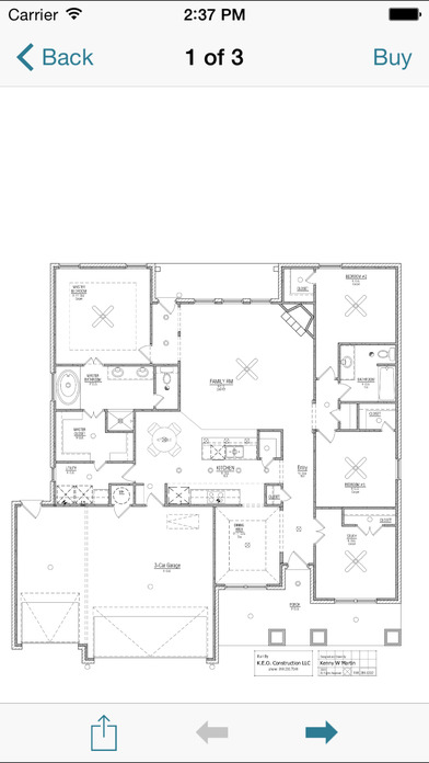 Square Foot: Floor Plans iPhone Screenshot 3