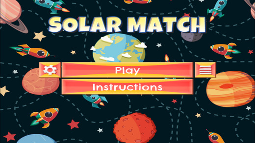 Solar Match - PRO - Slide Rows And Match Galactic Spaceships Arcade Puzzle Game