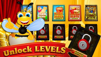 Screenshot 4 Honey Bee Слот машины Казино — бесплатно играть и опыту Вегас Игры