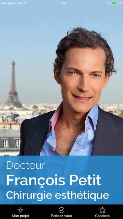 Chirurgie esthétique, Dr François Petit, PARIS iPhone Screenshot 1