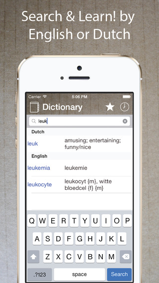 Dutch English Dictionary Free Offline Translator