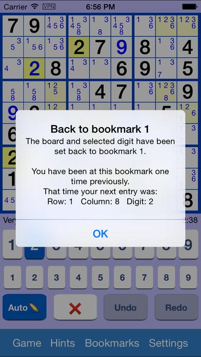 Sudoku Star iPhone Screenshot 4