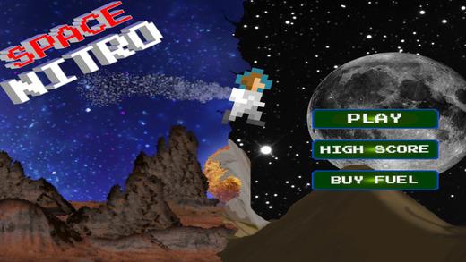 Space Nitro Pro- A Lone Astronaut's Survival Craft Challenge