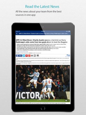 玩免費運動APP|下載West Bromwich Football Alarm — News, live commentary, standings and more for your team! app不用錢|硬是要APP