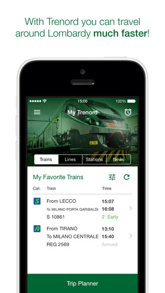 Trenord - Timetable and general information about trains in Lombardy
