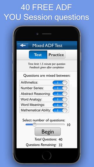 ADF Trainer Lite - YOU Session Preparation