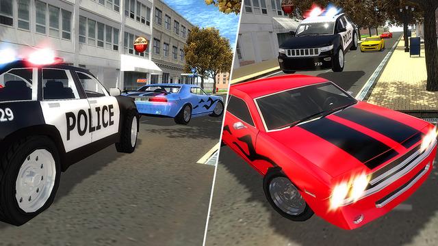 Police Driver Vs Street Racer