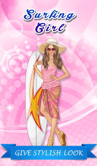 Cute Surfing Girl Fashion Clothes - Dress Up Game for Girls