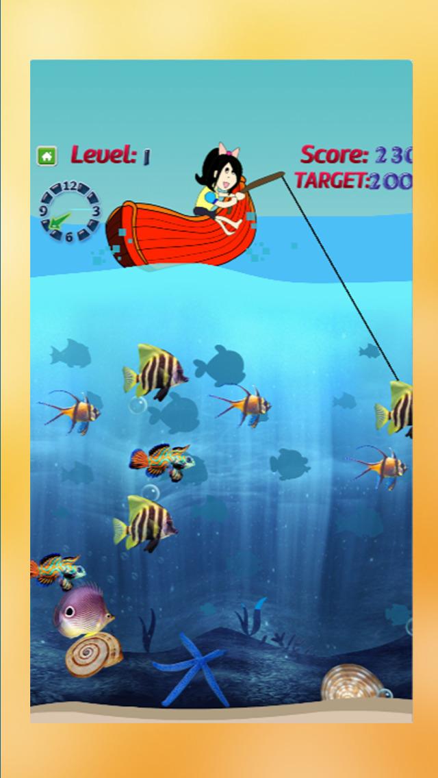 App shopper fishing kids fun catch big fish for girls for Fishing games for girls