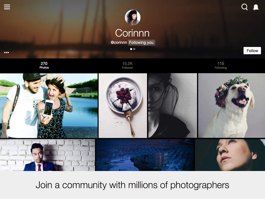 EyeEm - Photo Community - iPhone Mobile Analytics and App Store Data