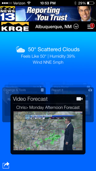 KRQE Weather - Albuquerque Radar Forecasts
