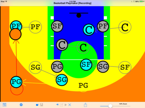 Basketball Playmaker iPad Screenshot 1