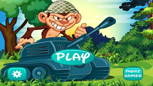 Red Ball Battles - A War Tank Monkey Challenge- Pro