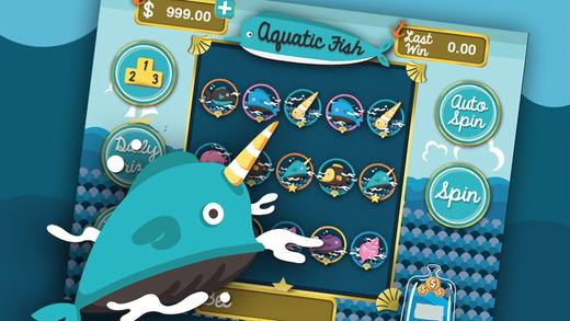 Aquatic Big Sea Slots Pro - Spin Top Best Slot Machines Casino Games