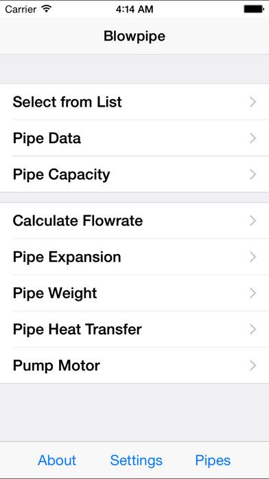 Blowpipe HVAC Lite iPhone Screenshot 2