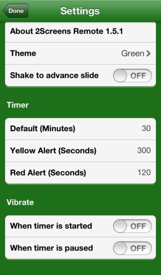 2Screens Remote iPhone Screenshot 5