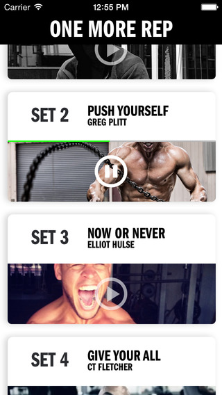 One More Rep - gym and fitness motivation audio