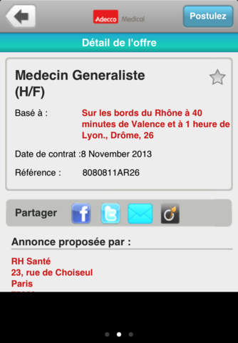 Adecco Medical screenshot 3