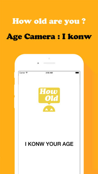 Age camera - This camera know your age
