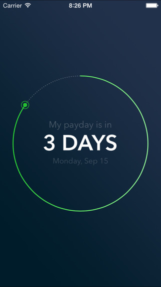 Next Payday Countdown