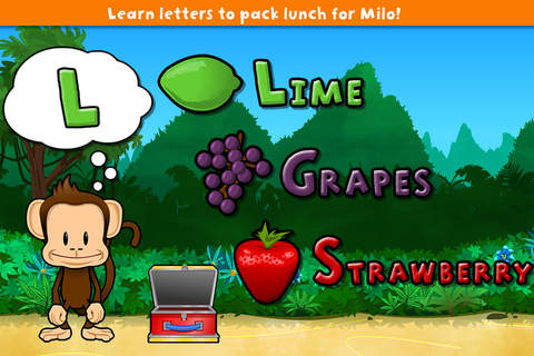 Screenshot 1 Monkey Preschool Lunchbox